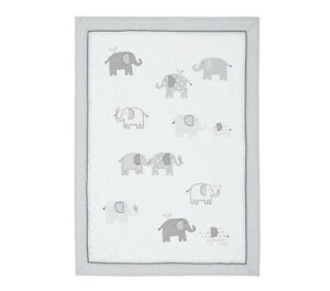 Enemble literie bébé éléphant pottery barn kids