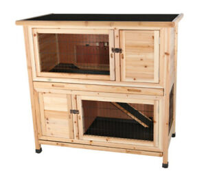 Trixie Natural Pine 2-story Hutch
