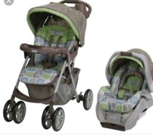 Stroller with travel system