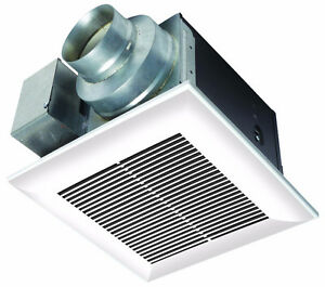 Panasonic WhisperCeiling™ Fan - Quiet, Spot Ventilation Solution