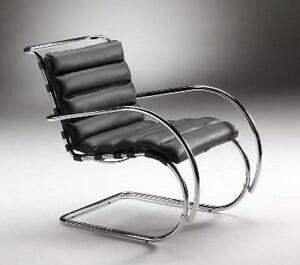 Mr Lounge Chair with Arm - Full Italian Genuine Leather - Clearance Sale!