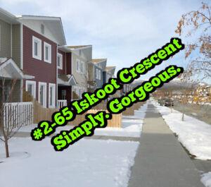 $429,000 ~ #2-65 Iskoot Crescent w REALTOR® Tamara Cromarty