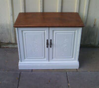 great end table or tv stand-refinished