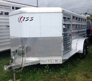 New Exiss 14' Low Profile Stock Trailer.