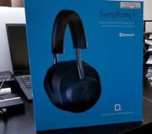 Symphony 1 Wireless Noise Cancelling Headphones , NEW In The Box