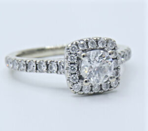 TOLKOWSY 1 Carat Appraised $6000 Certified Diamond Ring