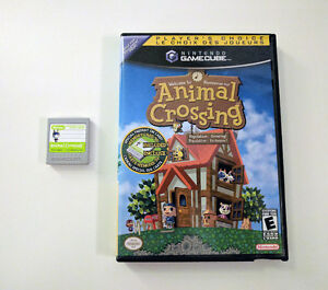 Animal Crossing pour GameCube avec Carte Mémoire
