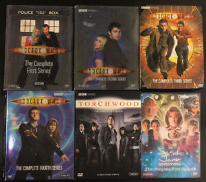 Doctor Who Series 1-6/Torchwood/Sarah Jane Adventures DVD Bluray