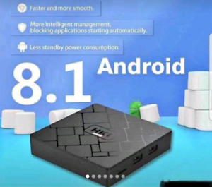 BNIB 8.1 android box with No monthly fee and keyboard