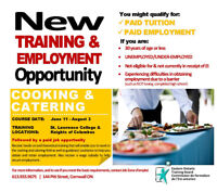 Cooking and Catering Training
