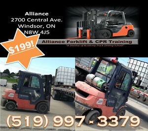 Forklift Course starting soon - don't miss out! Windsor Region Ontario image 1