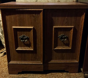 Wooden Vintage Sewing Machine Cabinet $400 OBO