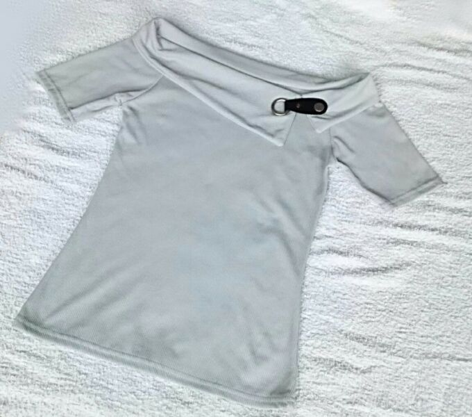 S$8.90 - BOAT NECK TOP