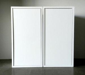 ★★ NEUF ★★ Ensemble de 2 armoires murales de rangement pratique