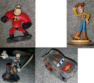 Disney Infinity figures for XBOX One, 360, & PS4 ($4 each) `