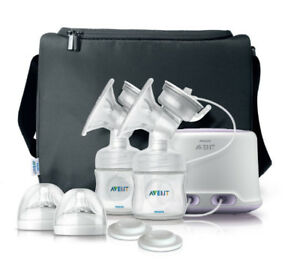 avent double pump breastfeeding