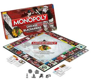 Chicago Blackhawks Monopoly at JJ Sports