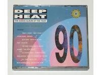 MUSIC CD ALBUM DEEP HEAT 90 DANCE 2 DISC SET VARIOUS ARTISTS 30 TRACKS KLF BEATS