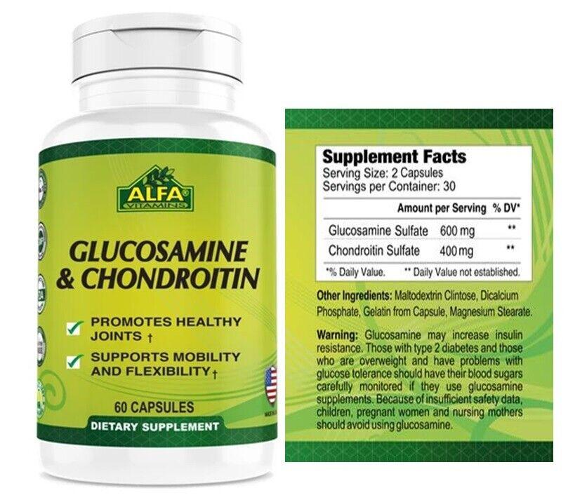 Glucosamina Pura Para los huesos y las articulaciones Condroitina reuma dolor 1