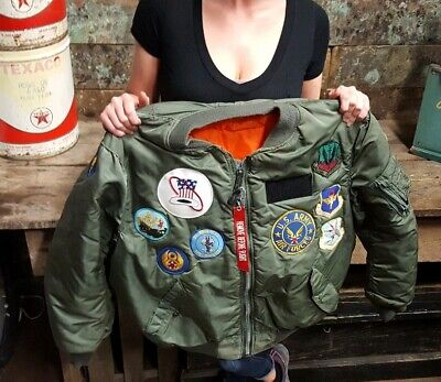 Rare Korean conflict era jacket with all Patches