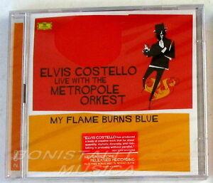 ELVIS-COSTELLO-LIVE-THE-METROPOLE-ORKEST-MY-FLAME-BURNS-BLUE-2-CD-Sigillato