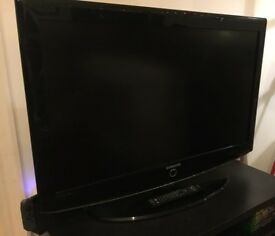 37 inch samsung freeview tv with remote