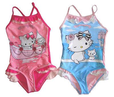 NEU Mädchen Kleinkind Badeanzug Charmmy Kitty Rosen Boot sehr süßes Motiv !