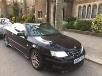 Saab 93 convertible aero 2007 automatic MUST SELL offers welcome 9-3 black leather