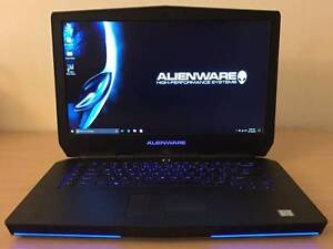 Alienware 15 i7 Quad 4710HQ GTX970M 16G Ram 128G SSD + 1TB HDD Rockdale Rockdale Area Preview