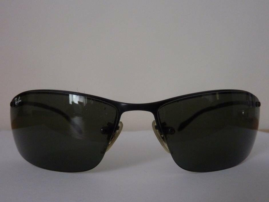 Genuine Ray Ban Sunglasses RB3183 Top Bar In Very Good Condition