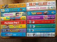 18 x VHS Video Tapes bundle