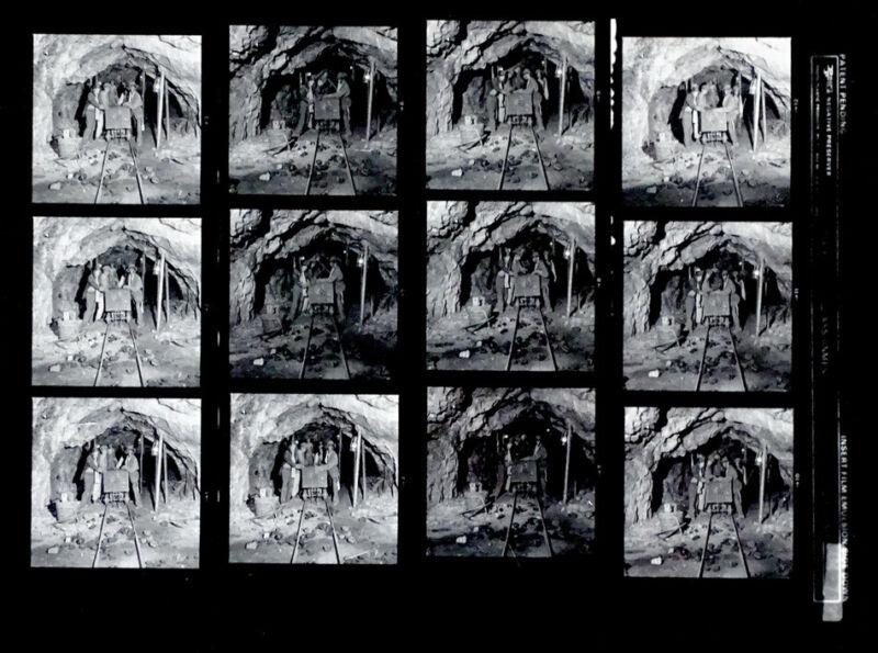Original AEROSMITH Proof 1979 ALBUM COVER PHOTO Contact Sheet NIGHT IN THE RUTS