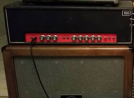 SIMMS WATTS AP100 VINTAGE AMP Liverpool Liverpool Area Preview