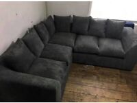 🛒🛒 SHOP NOW 🎀🎀 NEW LIVERPOOL JUMBO CORDED 🎀🎀 CORNER SOFA AVAILABLE NOW IN STOCK