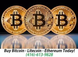 We sell bitcoin !!! Buy Bitcoin In Canada With The Lowest Fees! We accept cash!