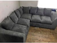 ON SALE LUXURY LIVERPOOL JUMBO CORD / 3 + 2 SEATER SOFA AVAILABLE ORDER NOW..