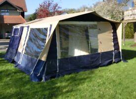 2008 Trigano Oceane trailer tent