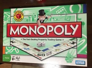 Monopoly new and sealed