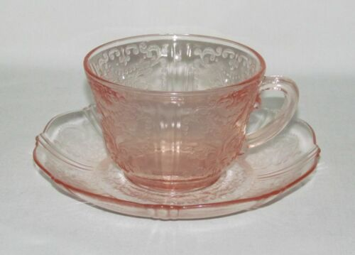 MacBeth Evans AMERICAN SWEETHEART Pink Cup and Saucer Set