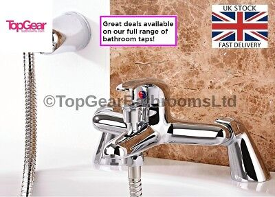 Modern Bath Shower Mixer Tap Complete Set with HandHeld Shower TG10 WINTER DEAL