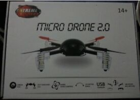 MICRO DRONE 2.0 (BRAND NEW) - (Camera excluded) - HALF PRICE!!