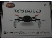 MICRO DRONE 2.0 (BRAND NEW) - (Camera excluded) - REDUCED PRICE!!