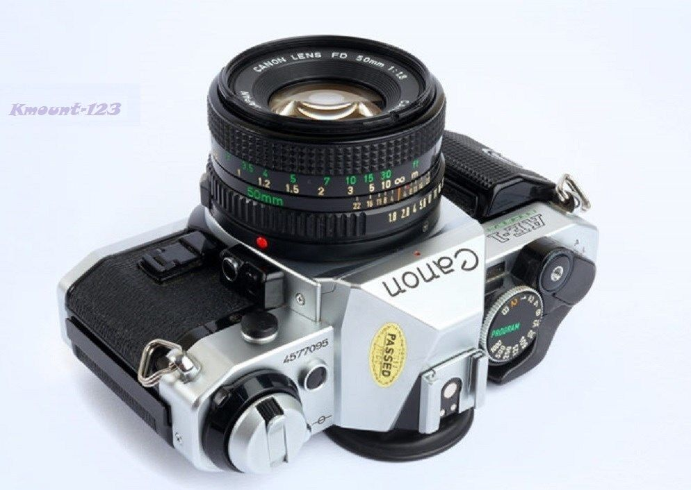 Canon AE-1 Program Camera Outfit with FD 50mm f1.8 Lens - Great Conditions !