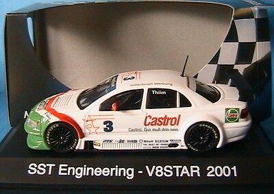 Opel Omega V8 3 Star Serie Sst Engineering Thiim 2001 Schuco 04827 1/43 Castrol