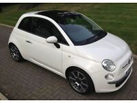 2008 FIAT 500 LOUNGE 1.4L WITH SPORTS MODE