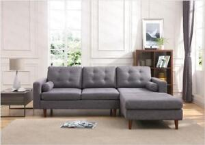 High Quality Fashion 2 Seater Fabric Modular Sofa with Chaise