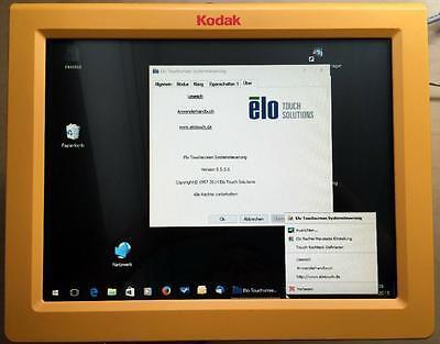 """ELO 15"""" Touchscreen TFT ET1520L LCD mit USB / Windows 7/8/10 /mit passenden Fuß"""