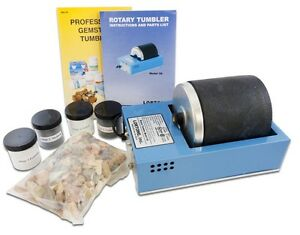 Deluxe Rock Tumbler Kit, Lortone 3A