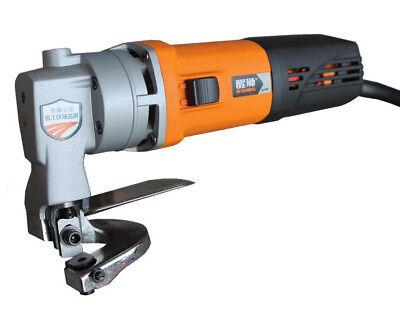 Electric Sheet Shear Metal Cutting Shears Heavy Duty Cutter Power Tool 220V H