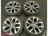 "Geniune R8 18"" Alloy wheels. Fit VW alloys mk4 mk5 golf.. audi a3 a4 r8 q7.. seat vw audi. Modified"